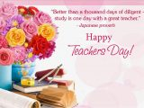 Message for Teachers Day Card English 2020 Happy Teachers Day Quotes Wishes Sms Greetings & Dp