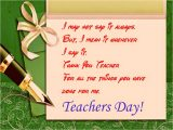 Message for Teachers Day Card English Good Wishes Messages Cards for Teacher S Day