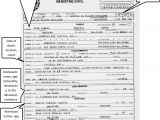 Mexican Death Certificate Template El Salvador Birth Certificate Translation Template Gallery