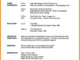 Microsoft Basic Resume Template Basic Resume Template Word Letters Free Sample Letters