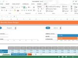 Microsoft Excel Budget Template 2013 Monthly Home Budget Template for Microsoft Excel 2013
