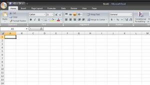 Microsoft Excell Templates Creating A Spreadsheet From Template In Microsoft Excel