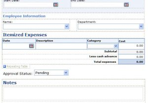 Microsoft Infopath form Templates Fear and Loathing Fixing Infopath forms In Application