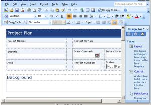 Microsoft Infopath form Templates Protect Your Bottom Line with Free Project Planning Templates