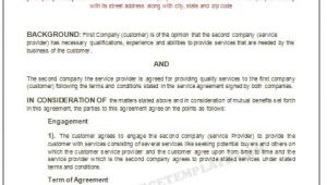 Microsoft Office Contract Template Microsoft Office Templatesservice Agreement Template