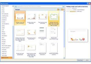 Microsoft Office Cookbook Template Finding Microsoft Word Recipe Templates