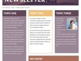 Microsoft Office Email Newsletter Templates Free Printable Newsletter Templates Email Newsletter