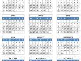 Microsoft Word 2014 Calendar Templates 2014 Year Calendar