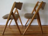 Mid Century Modern Card Table and Chairs Mid Century Modern Coronet Folding Chairs with Images