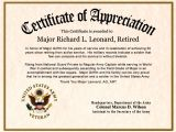 Military Award Certificate Template Free Customizable Certificates Certificate Templates