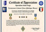Military Certificate Templates Certificate Of Appreciation Template 30 Free Word Pdf