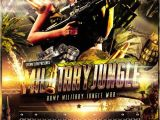 Military Flyer Template Army Military Jungle theme Flyer Template Jungles