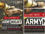 Military Flyer Template Army Night Flyer Template Flyerheroes