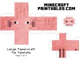 Minecraft Cut Out Templates 8 Best Images Of Printable Minecraft Paper Crafts
