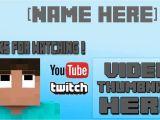 Minecraft Outro Template Movie Maker Minecraft Outro Template Windows Movie Maker Youtube