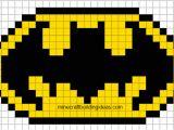 Minecraft Pixel Art Templates Batman Batman Logo