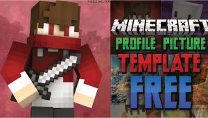 Minecraft Profile Picture Template Updated Free Minecraft Youtube Profile Picture Template