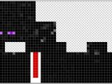 Minecraft Skin Template Grid Minecraft Pe Enderman Skin Template Pictures to Pin On