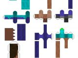 Minecraft Steve Paper Template 58 Best Images About Papercraft On Pinterest Fnaf Mike