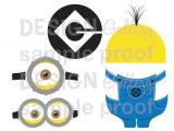 Minion Overall Template Minion Despicable Me Images Goggles Overalls Logo Yellow