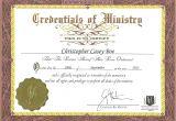 Minister License Certificate Template Template ordination Certificate Template