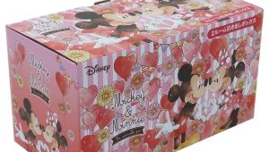 Minnie Mouse Wrapping Paper Card Factory Mickey Mini Desk Storing Box 2 Room Drawer Box Disney Tsuji Cell Mini Box Interior Miscellaneous Goods Fancy Goods Mail order Cinema Collection