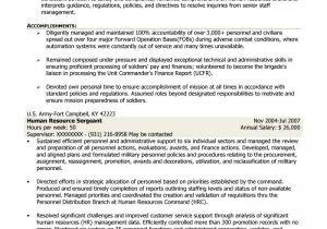 Mission Support Specialist Resume Sample Free Federal Resume Sample From Resume Prime