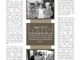 Missionary Newsletter Templates Mission Church Newsletter Template Newsletter Templates