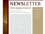Missionary Newsletter Templates Missionary Outreach Church Newsletter Template