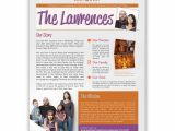 Missionary Newsletter Templates Newsletters Professional Design Printing Mailing
