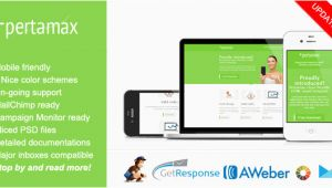 Mobile Friendly Email Template Mobile Friendly HTML Email Template Pertamax by Saputrad