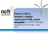 Mobile Optimized Email Template How to Craft A Modern Mobile Optimized HTML Email Template