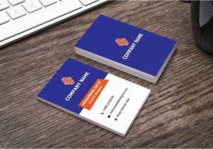 Modern Desktop Business Card Holder Horizontal Business Card Design In Illustrator Adobe