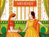 Modern Indian Wedding Card Designs Contemporary Indian Wedding Suite 2 Mehendi Invite