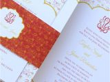 Modern Indian Wedding Card Designs Ganesh Indian Wedding Invitation In Red and Gold Imbue You