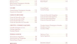 Modern Juice Center Menu Card the Best Restaurants In Brugairolles Updated June 2020