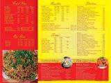 Modern Kitchen Dombivli Menu Card Hot Kitchen Menu