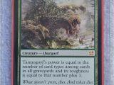 Modern Masters 25 Card List Magic the Gathering Tarmogoyf 166 229 Modern Masters