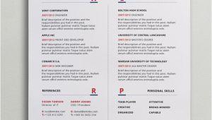 Modern Resume format Word Modern Resume Template Psd Word