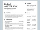 Modern Resume Template Free Word Personalize A Modern Resume Template In Ms Word