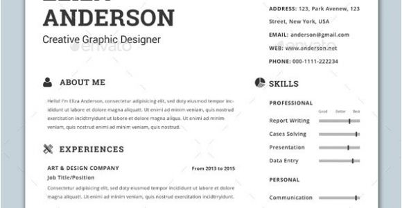 Modern Resume Templates Word Personalize A Modern Resume Template In Ms Word