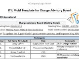 Mom Email Template Itil Mom Template for Change Advisory Board Itil Docs