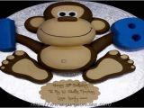 Monkey Birthday Cake Template 17 Best Ideas About Monkey Template On Pinterest Monkey