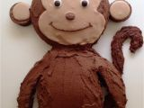 Monkey Birthday Cake Template Monkey Birthday Cake Template Sampletemplatess