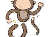 Monkey Body Template Monkey Craft