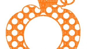 Monogram Pumpkin Templates Items Similar to Monogram Polka Dot Pumpkin Svg and Dxf