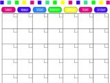 Month at A Glance Calendar Template 6 Best Images Of Free Month at A Glance Printable Calendar