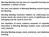 Morning Meeting Lesson Plan Template Morning Meetings Check Ins and social Emotional Learning
