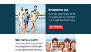 Mortgage Landing Page Templates 4 Mortgage Landing Page Templates Free Premium Templates