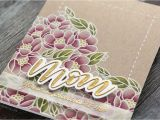 Mother S Day Greeting Card Handmade Mother S Day Card with Polychromos Colored Pencils Youtube